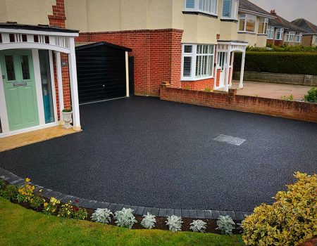 CW Stanley permeable tarmac