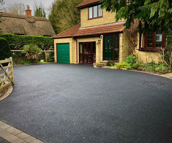 CW Stanley tarmac drive after