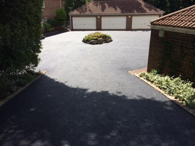 CW Stanley flaghead driveway