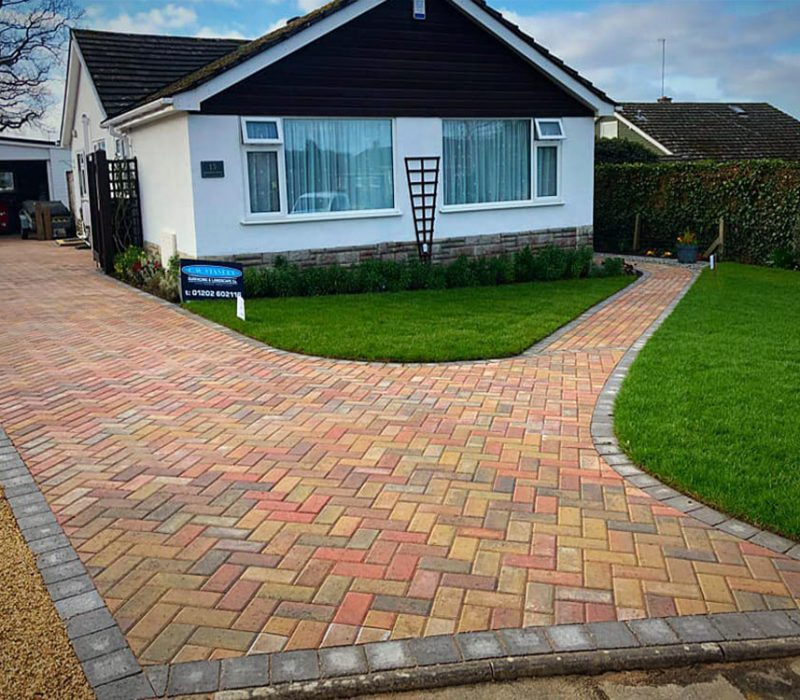Block Paving Driveway in Purbecks