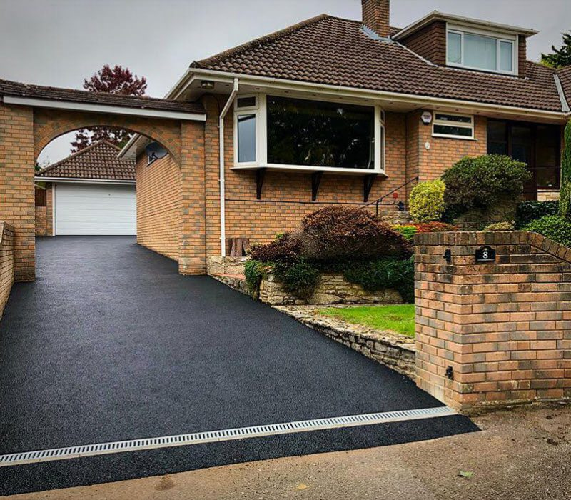 One of our tarmac driveways in Portsmouth.
