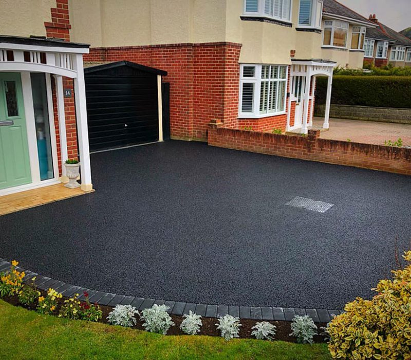 One of the best tarmac driveways Portsmouth has to offer.