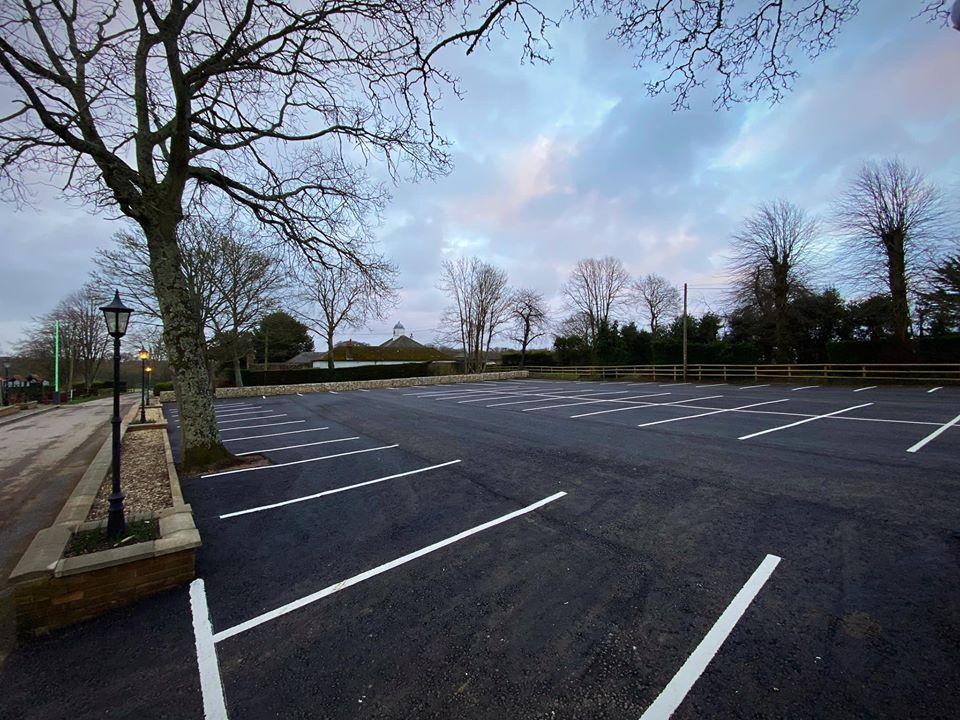 CW Stanley commercial car park tarmac