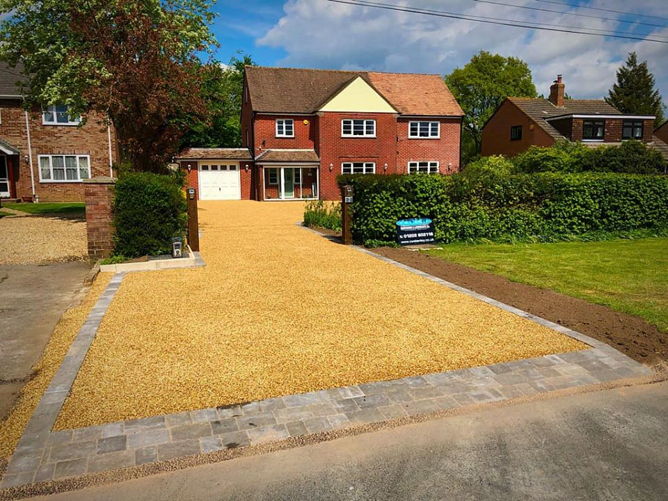 CW Stanley permeable driveway