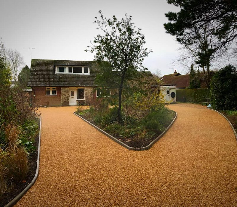 Resin Gravel Drive in Bournemouth