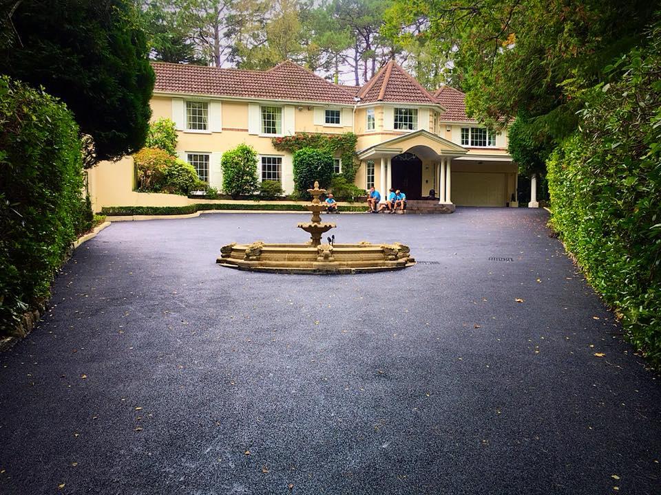 CW Stanley tarmac driveway