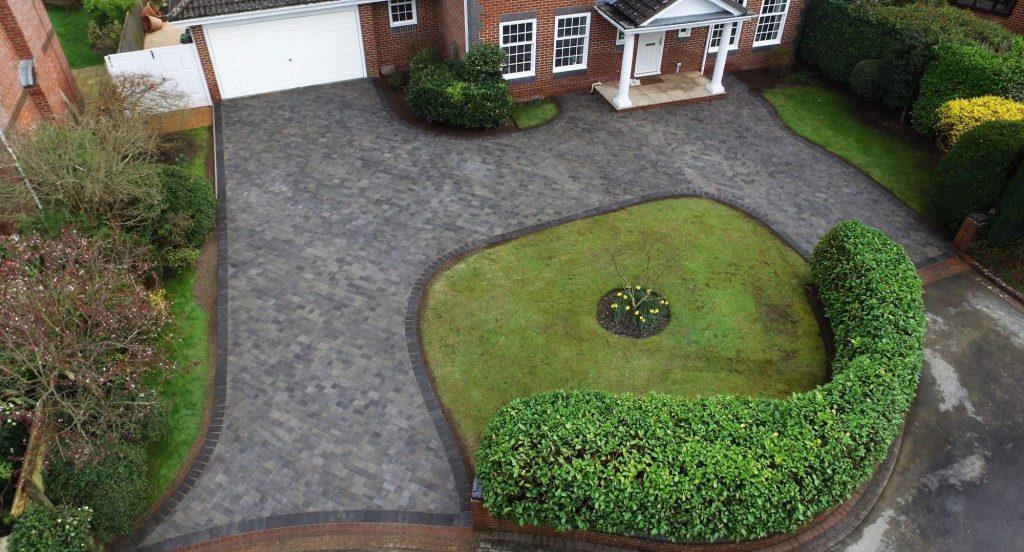 CW Stanley block paved driveway